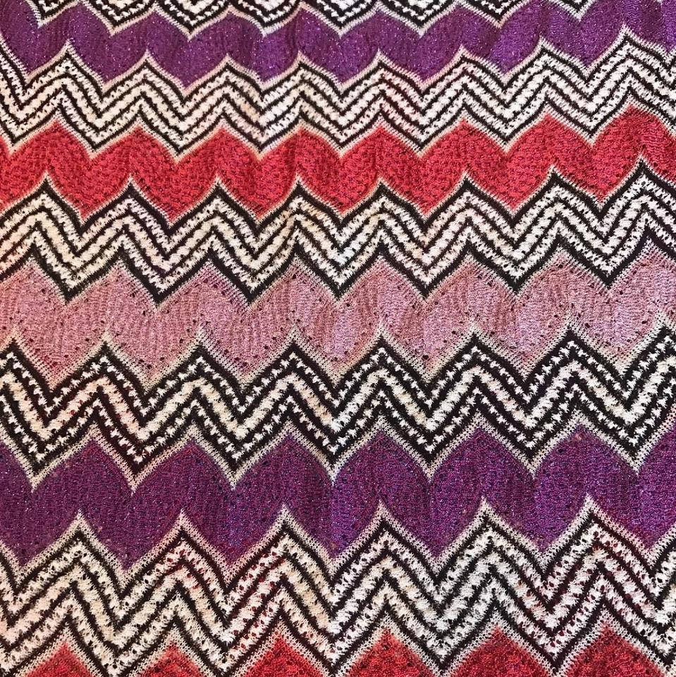 402e08af3231d Missoni Purple Mare Beach Dress Cover-up/Sarong Size 6 (S) - Tradesy