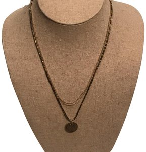 Stella & Dot Aura Coin Drop Necklace