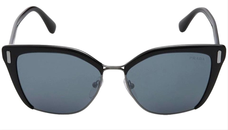 ad293a302a7 Prada Black Or 56ts 57 Sunglasses - Tradesy