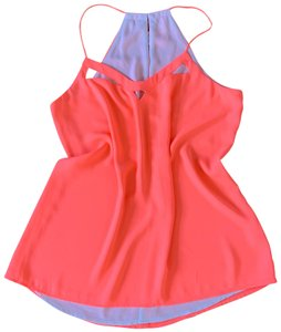 Express Top Neon Coral