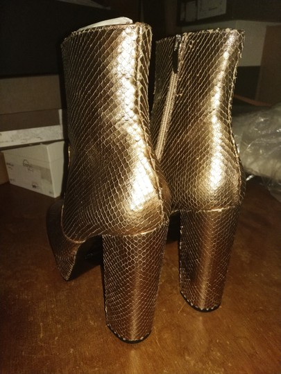 ElyseWalker Los Angeles Rose gold Boots Image 3