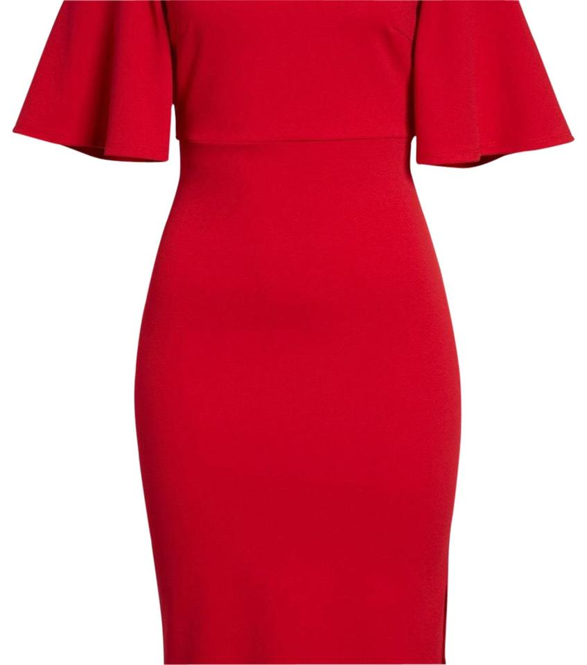 7fadf78319 Soprano Red Nordstrom Mid-length Cocktail Dress Size 2 (XS) - Tradesy