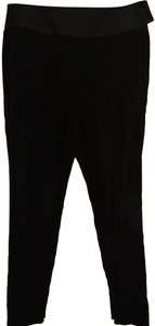 Alexandre Vauthier Straight Pants Black