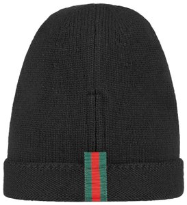 Gucci Wool hat with web Size M