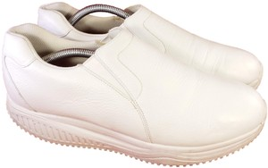 Skechers Work Woman Loafers Size 11 WHITE Athletic