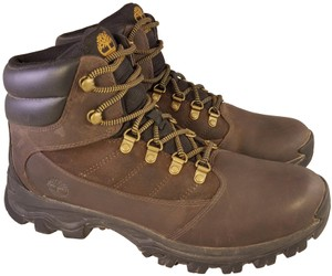 Timberland Man Man Size 10.5 Hiking Trailing Brown Boots