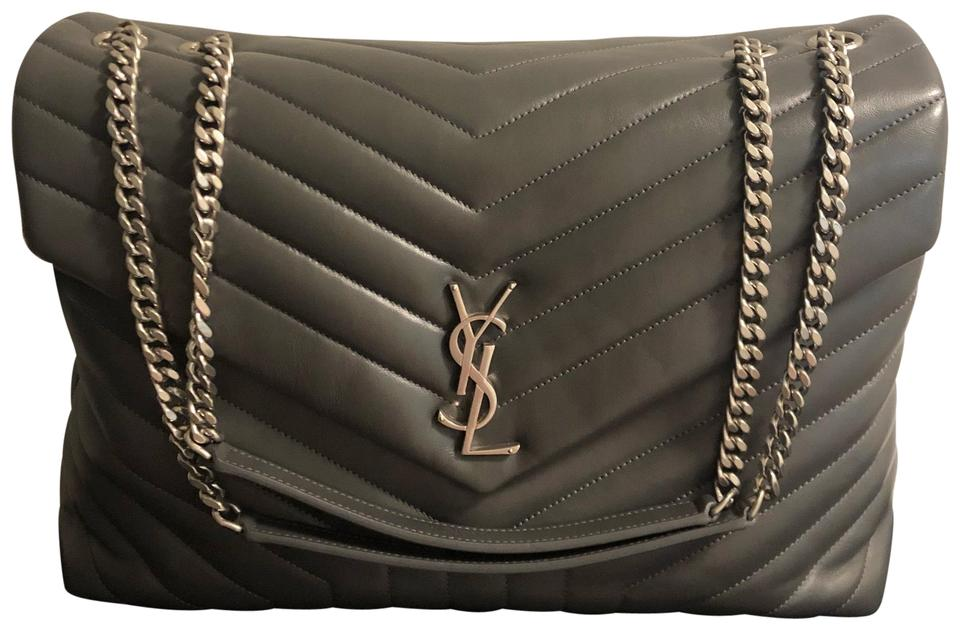 Saint Laurent Monogram Loulou Ysl Large Matelass 233 Leather