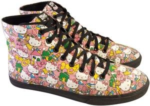 9e6c86f744 Vans Hello Kitty Woman Size 9 PINK Athletic