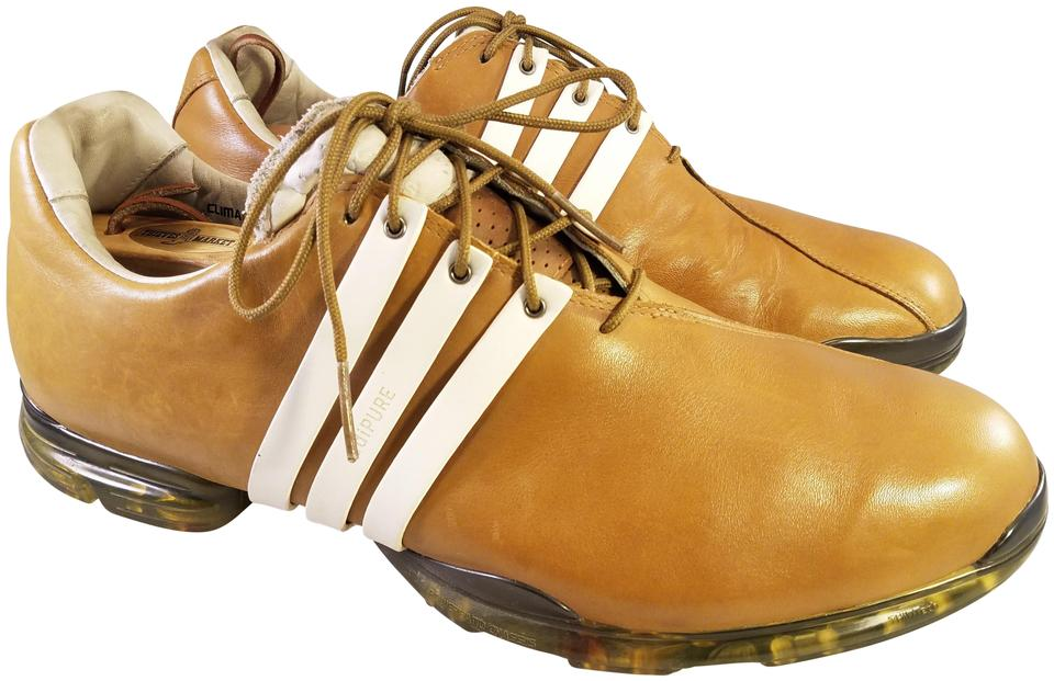 a8a96869a84 adidas Tan Mustard Golf Leather Tour Soft Spikes 48 13 Sneakers Size ...
