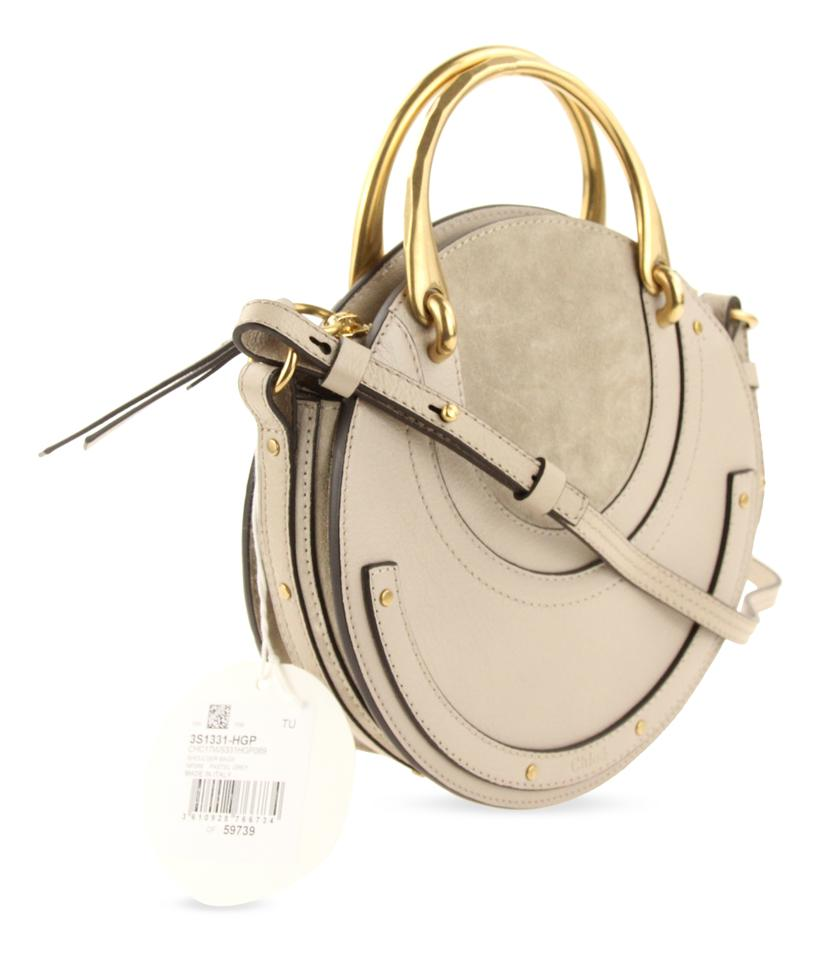 735b6b119b7b Chloé Pixie Small Grey Leather Cross Body Bag - Tradesy