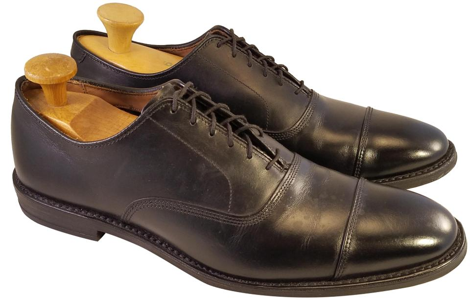 2a7bd945c Allen Edmonds Black Park Avenue Man Oxfords Cap Toe Leather Formal ...