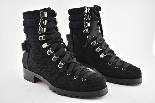 Christian Louboutin Stiletto Ankle Classic Love black Boots