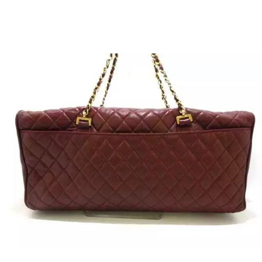 Chanel Satchel in maroon