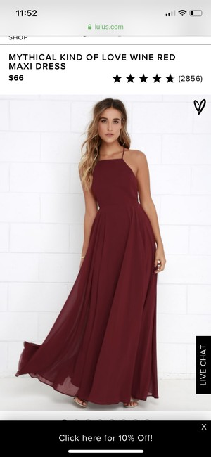 Preload https://img-static.tradesy.com/item/24618273/wine-red-mythical-kind-of-love-long-casual-maxi-dress-size-8-m-0-0-650-650.jpg