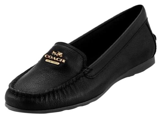 Preload https://img-static.tradesy.com/item/24618299/coach-black-opal-pebble-grain-leather-loafers-flats-size-us-7-regular-m-b-0-1-540-540.jpg