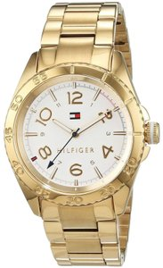 Tommy Hilfiger Tommy Hilfiger Women's Lizzie Quartz Gold Plated Casual Watch