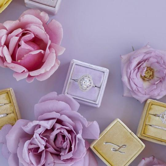 Light Purple The Cora Ring Other