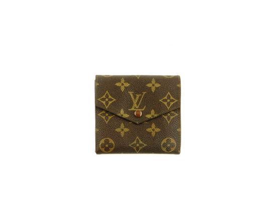 Preload https://img-static.tradesy.com/item/24618463/louis-vuitton-brown-vintage-monogram-canvas-leather-trifold-compact-clutch-france-wallet-0-0-540-540.jpg