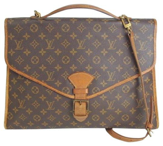 Louis Vuitton Belair Canvas Vintage Laptop Bag