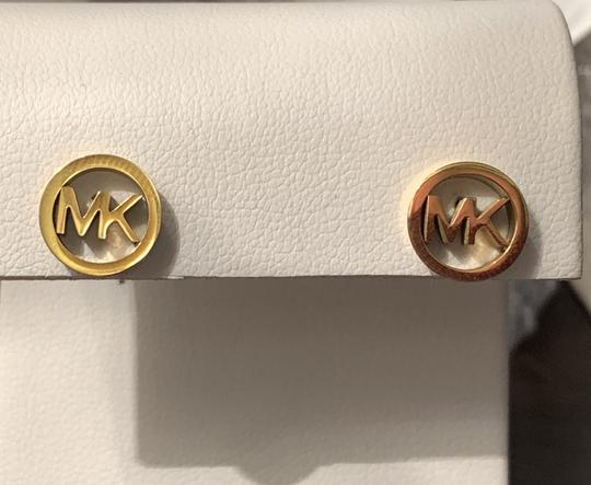 Michael Kors MK Circle Insignia Earrings
