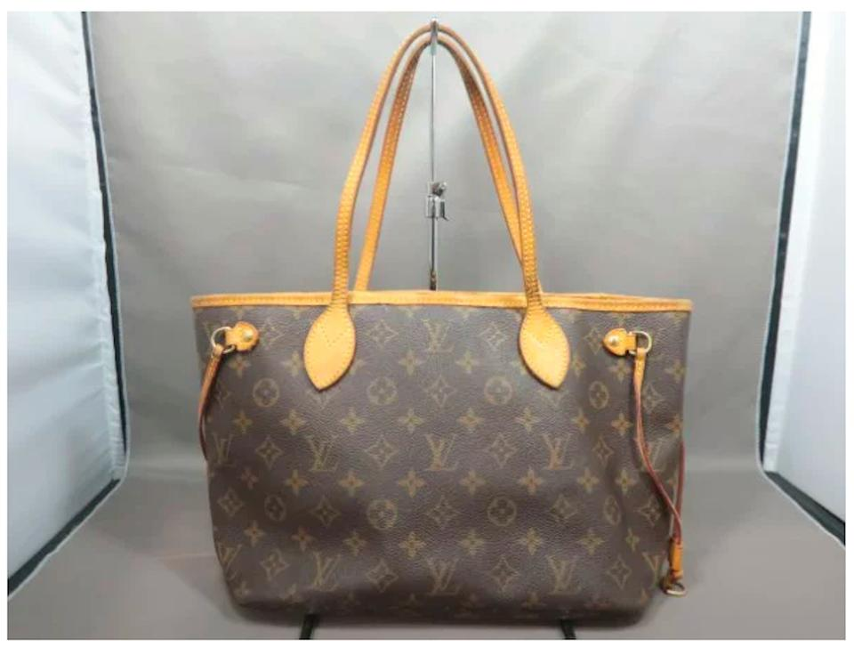 41f39d00078aa Louis Vuitton Leatherbag Vintage Neverfull Speedy Tote in Brown Image 0 ...