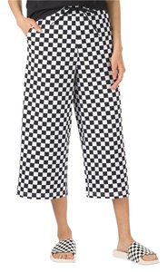 Vans Wide Leg Pants Checkerboard