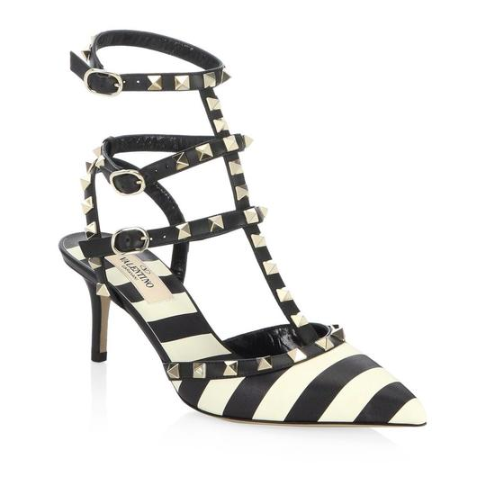 Valentino Studded Rockstud Chanel Multi Pumps