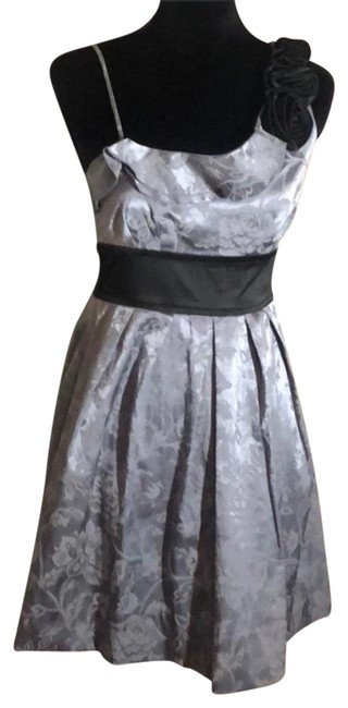 Preload https://img-static.tradesy.com/item/24618533/speechless-black-and-silver-homecoming-short-cocktail-dress-size-4-s-0-1-650-650.jpg