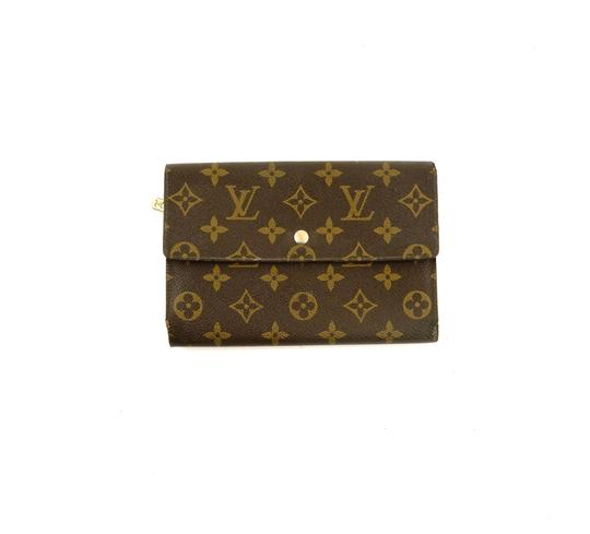 Preload https://img-static.tradesy.com/item/24618558/louis-vuitton-brown-rare-vintage-continental-monogram-canvas-leather-clutch-trifold-wallet-0-0-540-540.jpg