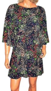 Alice + Olivia short dress multi colored Floral on Tradesy