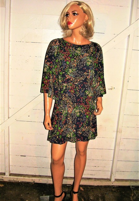 Alice + Olivia short dress multi colored Floral on Tradesy Image 1