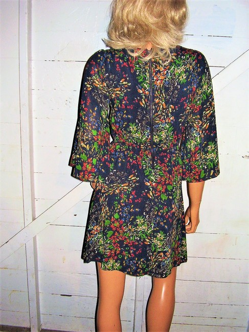 Alice + Olivia short dress multi colored Floral on Tradesy Image 5