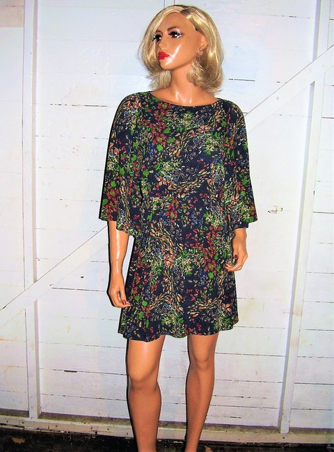 Alice + Olivia short dress multi colored Floral on Tradesy Image 8