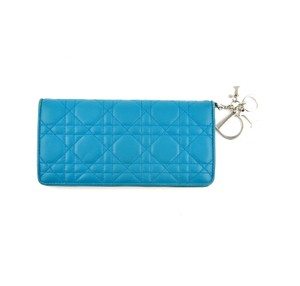 Dior Carnage Leather Lady Dior Clutch Wallet Italy