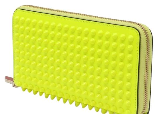 Preload https://img-static.tradesy.com/item/24618592/christian-louboutin-neon-yellow-panettone-wallet-0-1-540-540.jpg