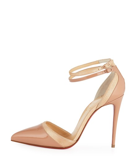 Preload https://img-static.tradesy.com/item/24618595/christian-louboutin-beige-new-uptown-double-leather-and-suede-lame-pumps-size-eu-38-approx-us-8-regu-0-0-540-540.jpg