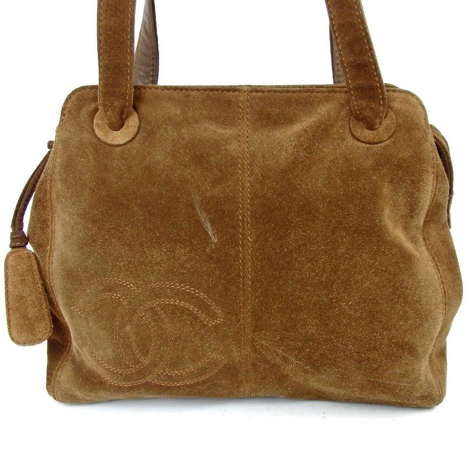 Chanel Brown Suede Shoulder Bag - Tradesy 92f8900de6517