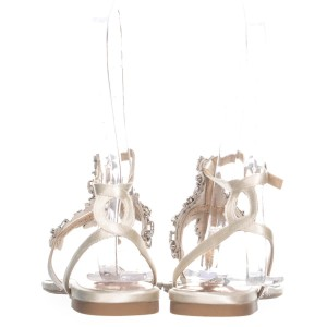 Badgley Mischka Beige Sandals