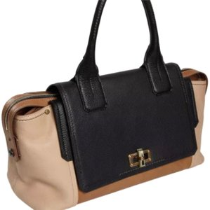 Lanvin Satchel in black and browns