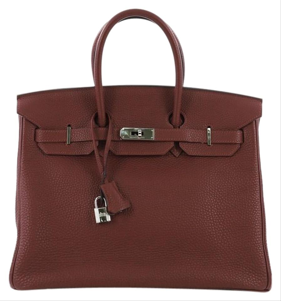 c0b04306e5c4 Hermès Birkin Handbag Rouge H Togo with Palladium Hardware 35 ...