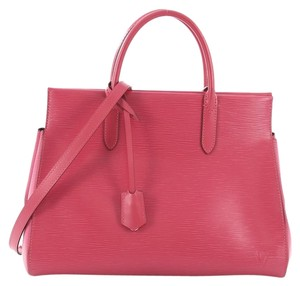 Louis Vuitton Leather Handbag Tote in pink