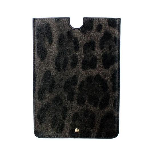 Dolce&Gabbana D10050 Leopard Leather Ipad Tablet Ebook Cover (21 cm x 15 cm) Image 1