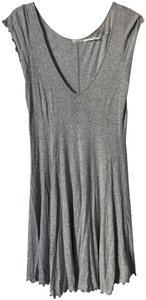 Kimchi Blue short dress Gray Bodycon Urban Ruffle on Tradesy