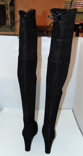 Stuart Weitzman Celebrity Blogger Black Over Knee Boots