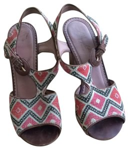 Anthropologie Vintage T Strap Sandals