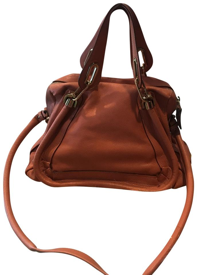 5cfa7242f406 Chloé Paraty Suntan Leather Satchel - Tradesy