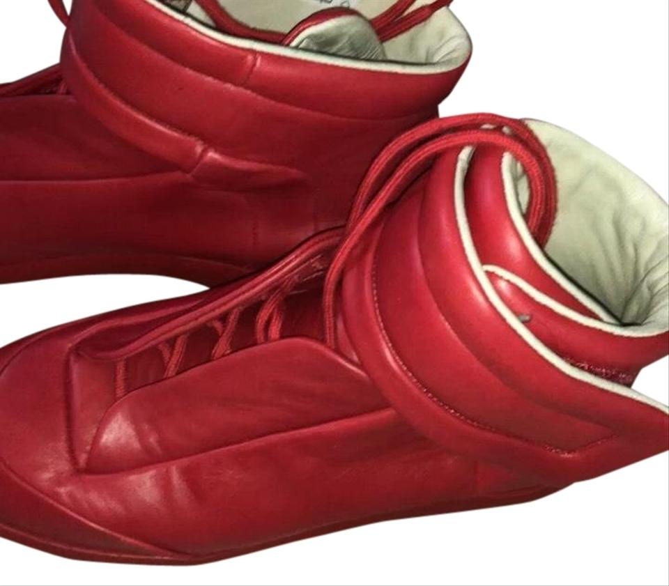 2bdb16ad1cd Maison Margiela Lipstick Red Future Sneakers Sneakers Size US 8.5 Regular  (M, B) 35% off retail