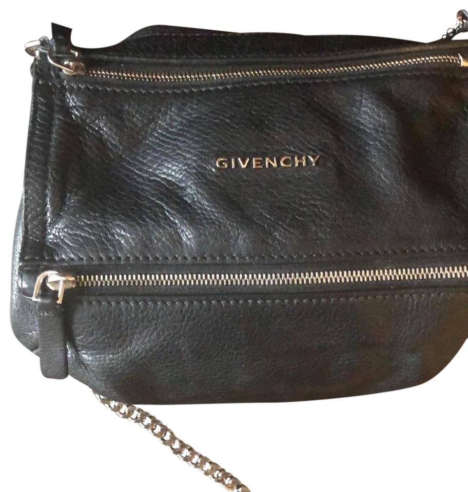 5acd5e7dce4 Givenchy Pandora Chain Shoulder Goat Skin Leather Cross Body Bag ...