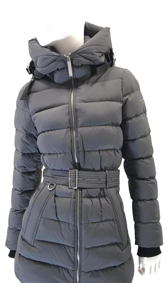 a0a50d6b0 Burberry Mid Grey Limehouse Down-filled Hooded Puffer Small Coat ...