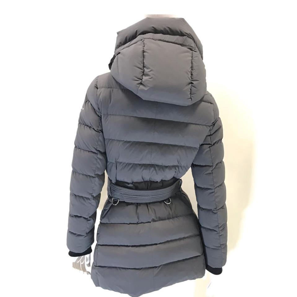 bc76fefc0 Burberry Mid Grey Limehouse Down-filled Hooded Puffer Coat Size 16 (XL,  Plus 0x) 44% off retail